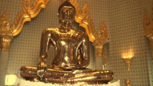 Buda de Ouro #ExperimenteaPAZ