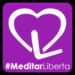 Logo MeditarLiberta #ExperimenteaPAZ